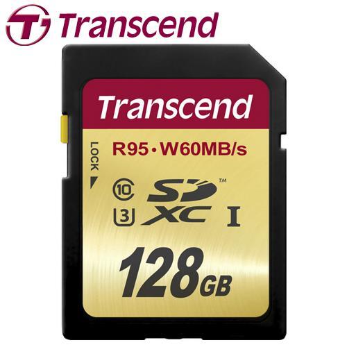 Transcend 創見 ULTIMATE SDXC UHS-I U3 128G 記憶卡