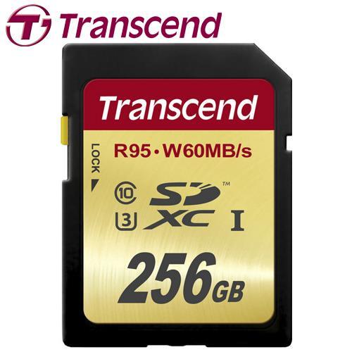 Transcend 創見 ULTIMATE SDXC UHS-I U3 256G 記憶卡