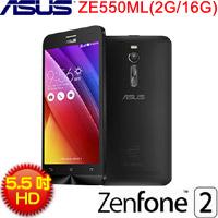 【福利品】ASUS5.5吋 ZenFone 2  ZE550ML 黑