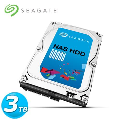 Seagate 3.5吋 3TB SATA3 NAS專用 內接硬碟