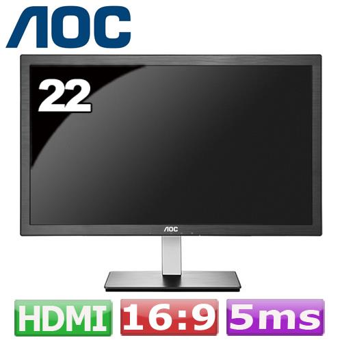 AOC I2276VWM6/WB 21.5吋 IPS 液晶螢幕 黑