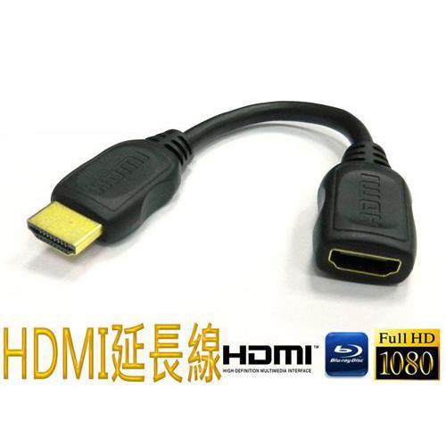 SCE HDMI公/HDMI母延長線 15CM