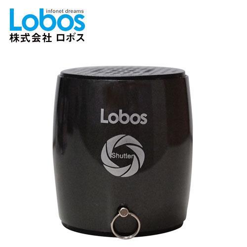 Lobos益運 無線藍芽喇叭+自拍器 MB3S 曜岩黑