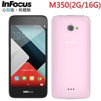 【福利品】InFocus富可視 5吋雙卡4G全頻智慧型手機 M350 粉