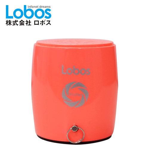 Lobos益運 無線藍芽喇叭+自拍器 MB3S 閃酷橘