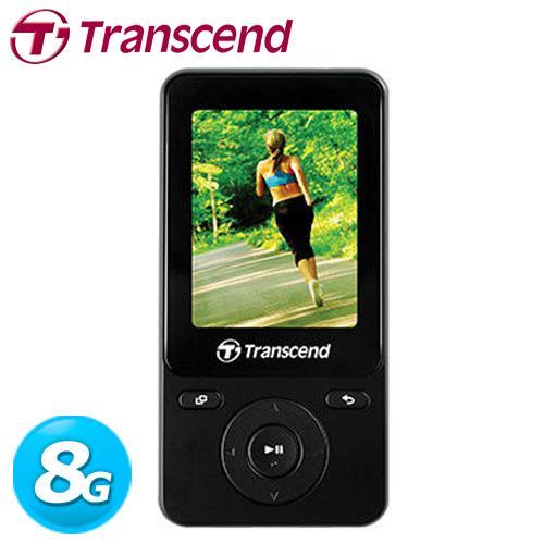 Transcend 創見 MP710 音樂播放器 8GB 黑