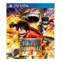 【客訂】PS Vita遊戲《航海王:海賊無雙 3》亞洲中文版