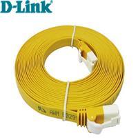 5米 Cat.6 UTP高速扁平網路線(黃色)