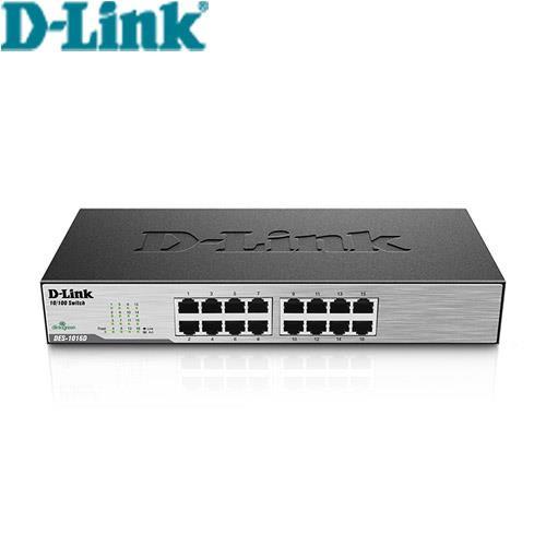 D-Link 16埠交換器 DES-1016D(G1)