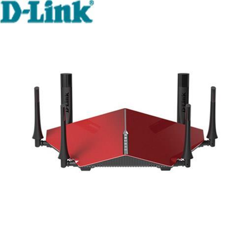 D-LINK DIR-890LR AC3200雙核三頻Gigabit無線路由器-紅