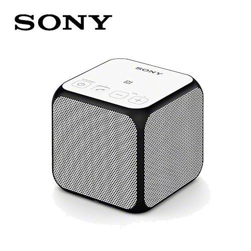 SONY 索尼 SRS-X11 藍牙方塊喇叭 白
