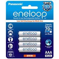 Panasonic 4號800mAh低自放鎳氫充電電池 4只裝