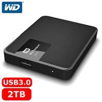 WD My Passport Ultra 2.5吋 2TB 行動硬碟 經典黑