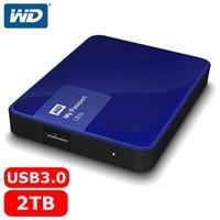 WD My Passport Ultra 2.5吋 2TB 行動硬碟 貴族藍