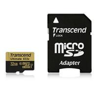 Transcend創見 ULTIMATE micro SDHC UHS-I U3 633x (頂級旗艦款) 32G 記憶卡