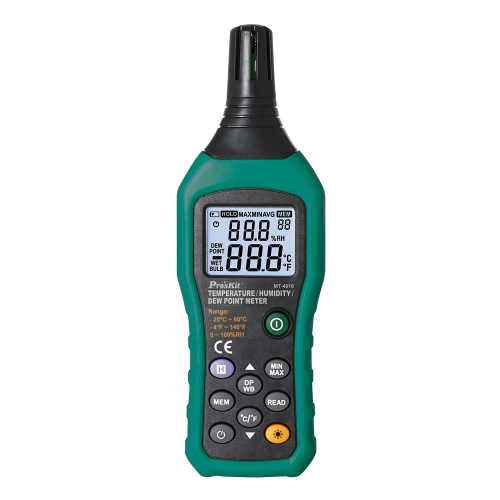 Pro'sKit寶工 MT~4616溫度.溼度.露點測試器