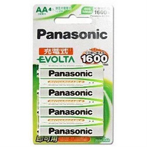 國際牌Panasonic EVOLTA 3號2050mAh低自放鎳氫充電池 4入