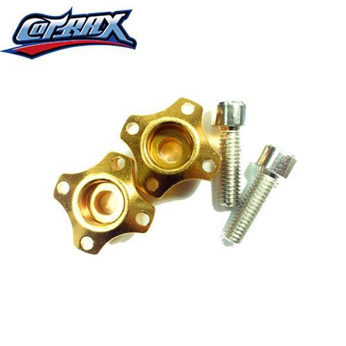 COTRAX輕量化鋁合金牌照框螺絲/十字型(金)