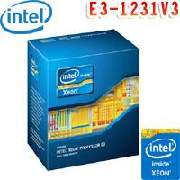 Intel英特爾 Xeon E3-1231 V3 處理器
