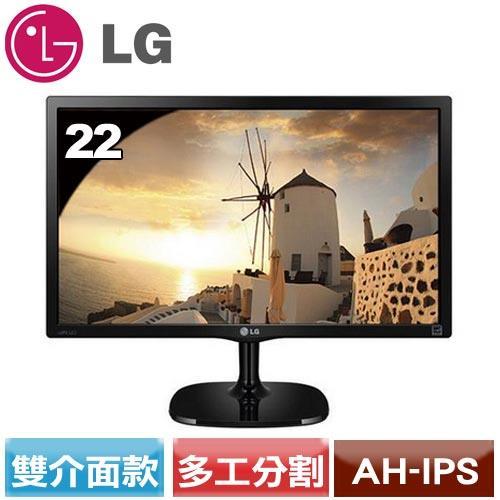LG 22型廣視角低藍光不閃爍螢幕 22MP57D-P