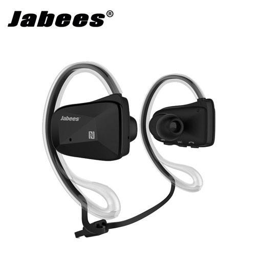 Jabees Bsport 運動型防水藍牙耳機麥克風 黑