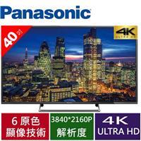 Panasonic國際 40型4K LED連網液晶電視 TH-40CX600W