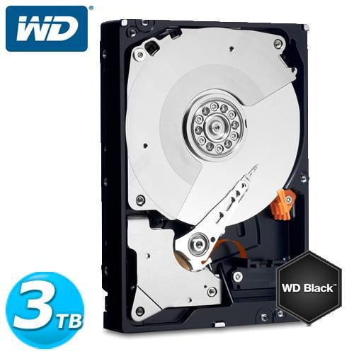 WD 黑標 3.5吋 3TB SATA3 內接硬碟 3003FZEX