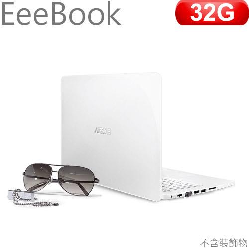 ASUS華碩 EeeBook E402MA-0042AN2840 14吋筆記型電腦 天使白