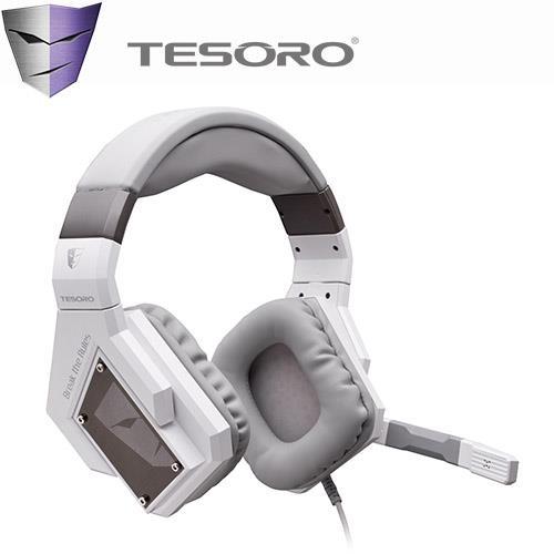 TESORO Kuven Angel 凱雷神盔虛擬7.1耳機麥克風 天使版