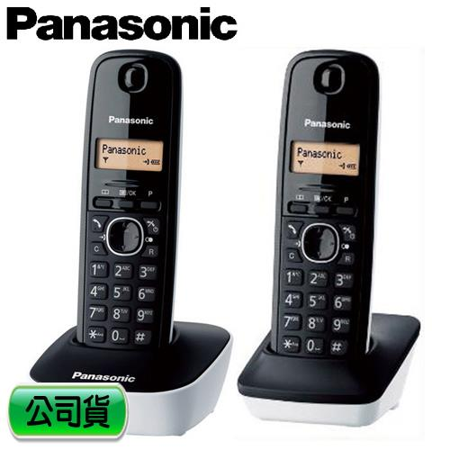 Panasonic 國際牌 數位雙手機無線電話 KX-TG1612TW 白