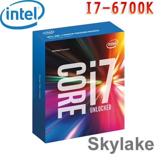 Intel英特爾 Core i7-6700K 中央處理器
