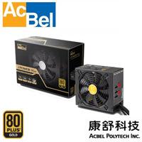 AcBel康舒 iPower90M 500瓦 80plus金牌 模組化電源供應器