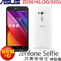 ASUS華碩 5.5吋 Full HD LTE神拍機 ZenFone Selfie ZD551KL 純真白 (3G/32GB)