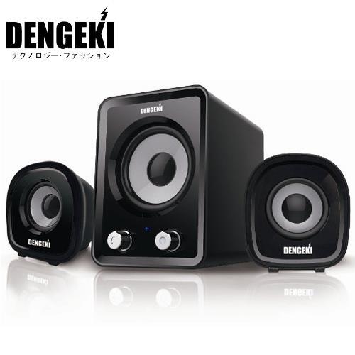 DENGEKI 電撃 SK-827 2.1聲道 多媒體喇叭
