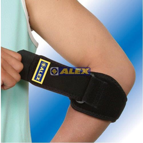 【ALEX】第二代矽膠軟墊護肘(網球肘)T-26/一只入