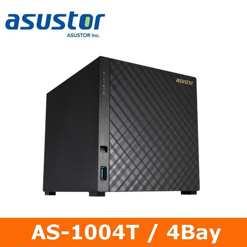 Eclife-ASUSTOR  AS-1004T 4Bay