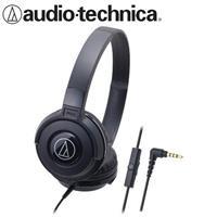 【公司貨-非平輸】鐵三角 ATH-S100iS 可摺疊耳罩耳機 黑