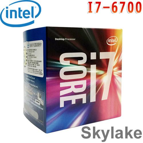 Intel英特爾 Core i7-6700 中央處理器