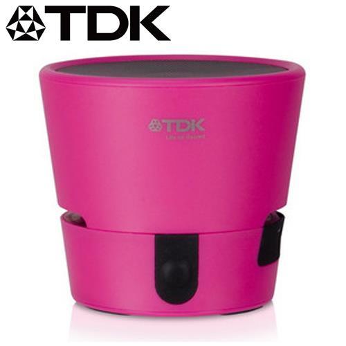 TDK TREK Mini A08 防水防震迷你藍牙喇叭 粉