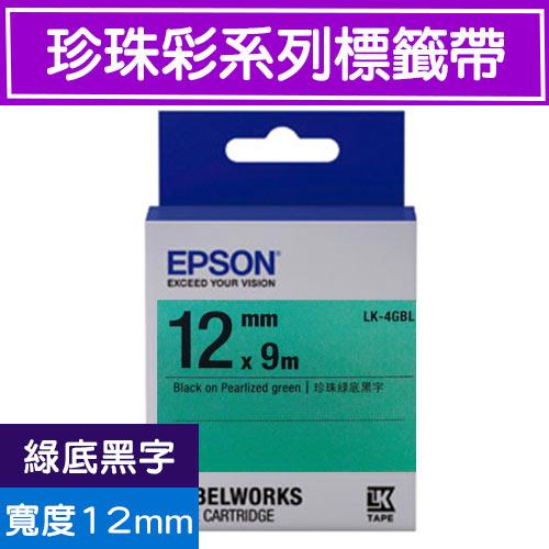 Eclife-EPSON LK-4GBL S654419()12mm