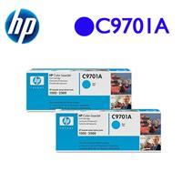 【買一送一,原$7416】HP C9701A 原廠藍色碳粉匣