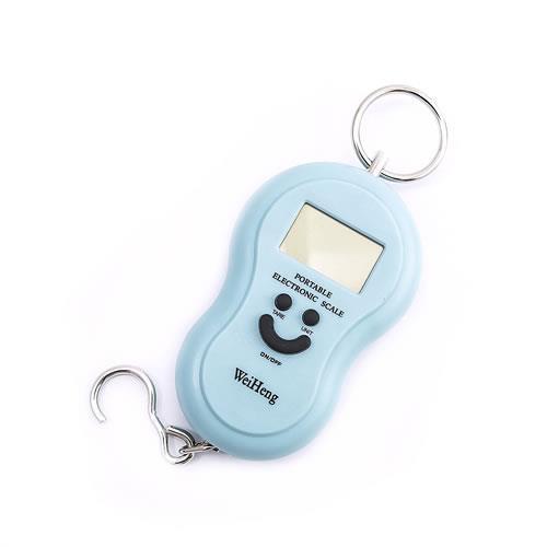 葫蘆型電子式拉力秤 (藍色)MAX:40KG MIN:10G