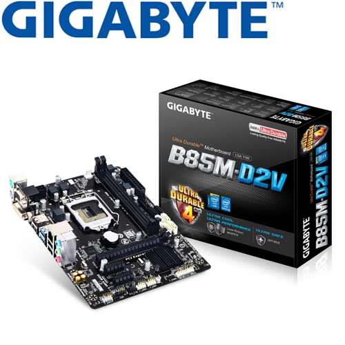 【福利品】GIGABYTE技嘉 GA-B85M-D2V 主機板