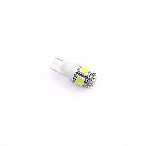 T10 5050 5燈LED 白光(2PCS/卡)