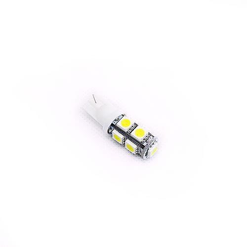 T10 5050 9燈LED 白光(2PCS/卡)