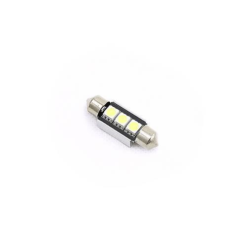 31mm 雙尖5050LED 3燈 白光 2PCS卡