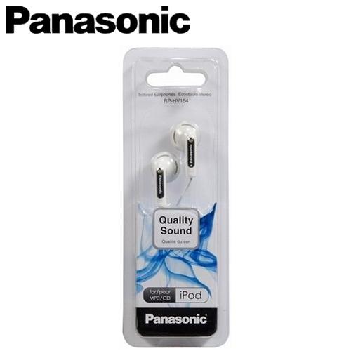 Panasonic 國際牌 RP-HV154 輕巧型迷你耳機 白