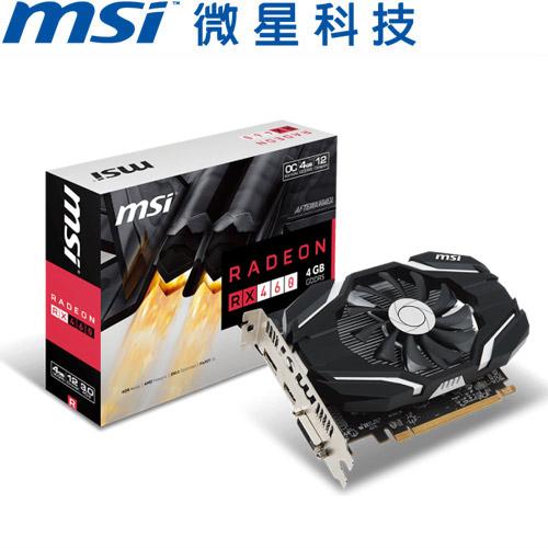MSI微星 Radeon RX 460 4G OC 顯示卡