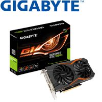 GIGABYTE技嘉 GeForce® GTX 1050 Ti G1 Gaming 4G 顯示卡
