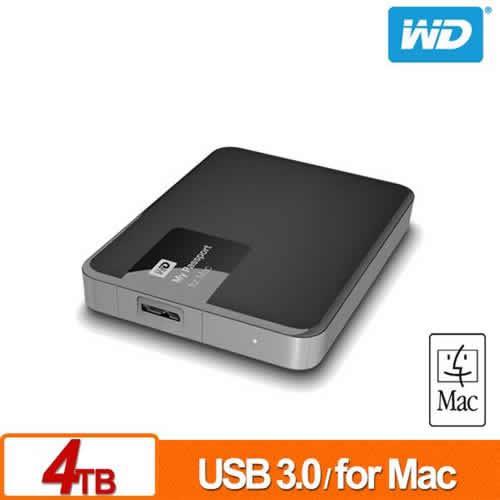 WD My Passport for Mac 4TB 2.5吋行動硬碟
